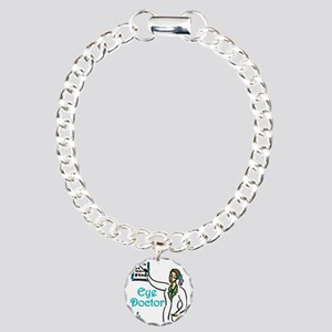 Eye Doctor Charm Bracelet, One Charm
