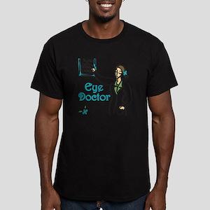 Eye Doctor Men's Fitted T-Shirt (dark)