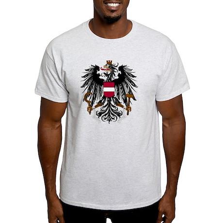 austria_coa_Bk1 Light T-Shirt
