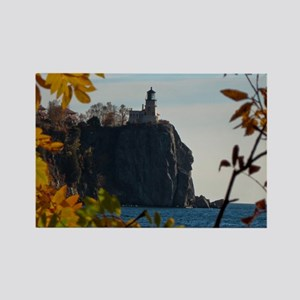 Split Rock Lighthouse Rectangle Magnet