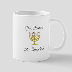 Custom 1st Hanukkah Mug