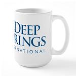 Deep Springs International logo Large Mug