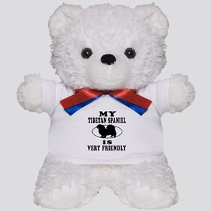 My Tibetan Spaniel Is Very Friendly Teddy Bear