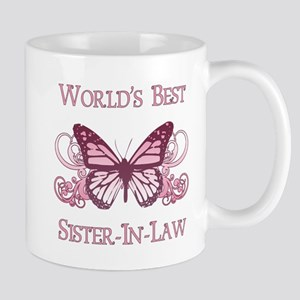 World's Best Sister-In-Law (Butterfly) Mug