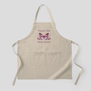 World's Best Sister-In-Law (Butterfly) Apron
