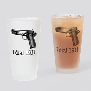 Dial 1911 Drinking Glass