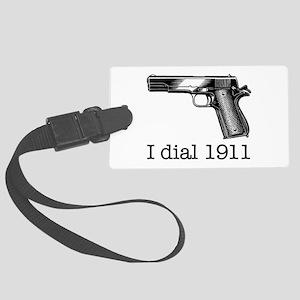 Dial 1911 Luggage Tag