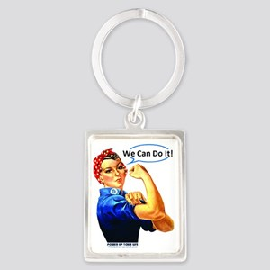 We Can Do It! Portrait Keychain
