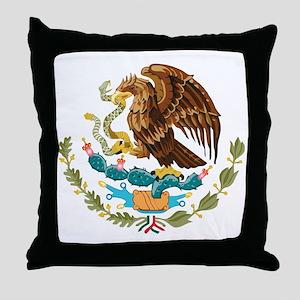 Mexico COA Throw Pillow