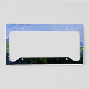 Newport and Lake Mem License Plate Holder