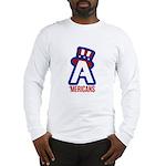 AA logo with red wordmark Long Sleeve T-Shirt
