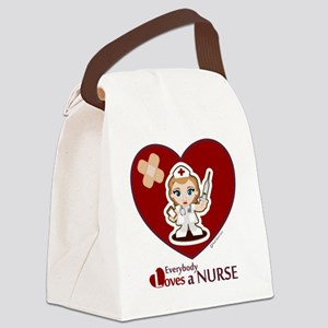 NurseLOVE Canvas Lunch Bag