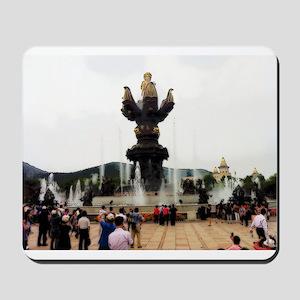 Birth of Little Buddha Mousepad