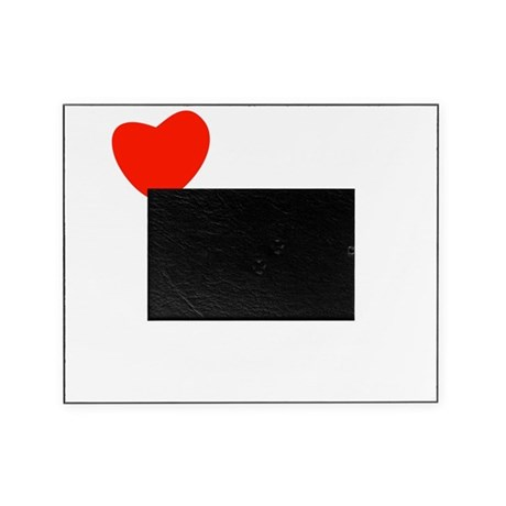 love_white-all Picture Frame