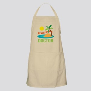Retired Doctor Apron