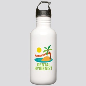 Retired Dental Hygienist Stainless Water Bottle 1.
