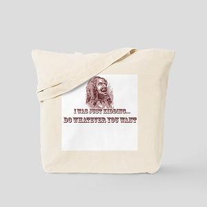 Jokester Jesus Tote Bag