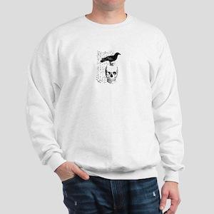 Vintage Raven & Skull Sweatshirt