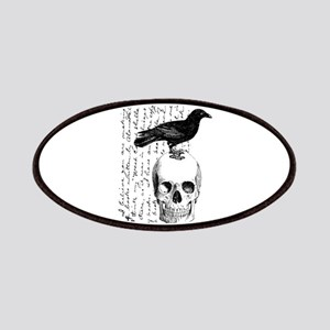 Vintage Raven & Skull Patches