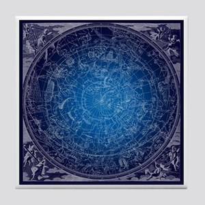 Celestial Wall Map Tile Coaster