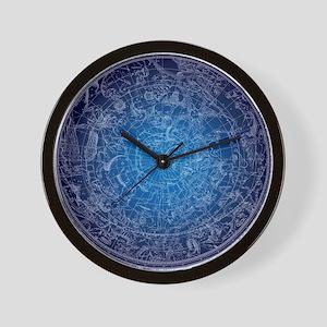 Celestial Wall Map Wall Clock