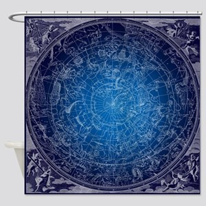 Celestial Wall Map Shower Curtain