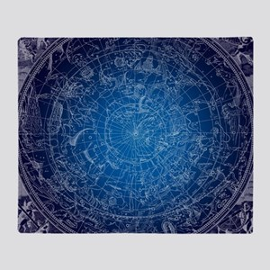 Celestial Wall Map Throw Blanket