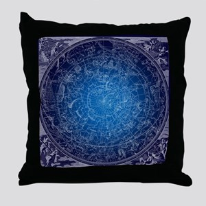 Celestial Wall Map Throw Pillow