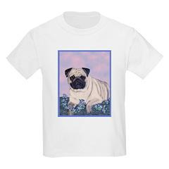 Pensive Pug Kids T-Shirt