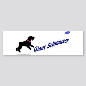 Bumper Sticker natural ear frisbee catching giant