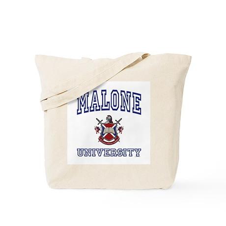 MALONE University Tote Bag