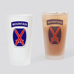 SSI - 10th Mountain Division Drinking Glass