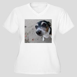 Beach Rat Terrier Plus Size T-Shirt
