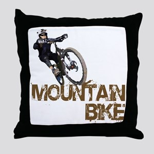 Mountain_Bike2 Throw Pillow