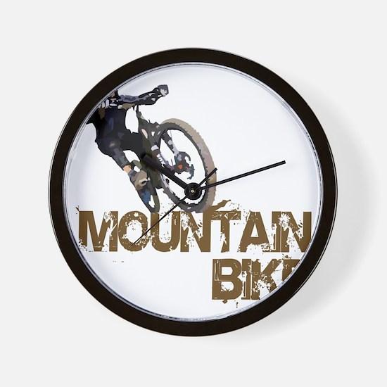 Mountain_Bike2 Wall Clock