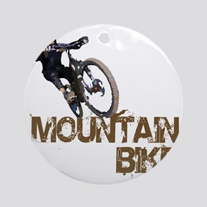 Mountain_Bike2 Round Ornament