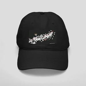 Moon Black Cap