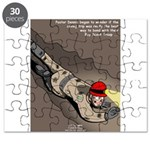 Spelunking Minister Puzzle