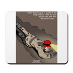 Spelunking Minister Mousepad