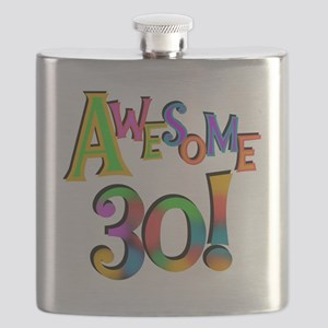 Awesome 30 Birthday Flask