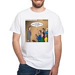 Sermon Tweeting White T-Shirt