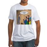 Sermon Tweeting Fitted T-Shirt