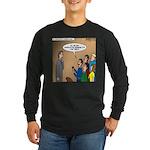 Sermon Tweeting Long Sleeve Dark T-Shirt