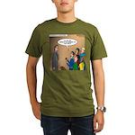 Sermon Tweeting Organic Men's T-Shirt (dark)