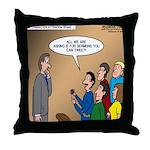 Sermon Tweeting Throw Pillow