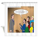 Sermon Tweeting Shower Curtain