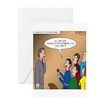 Sermon Tweeting Greeting Card