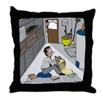 Minister in Hiding Throw Pillow