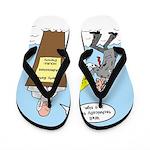 Sign from Heaven Flip Flops