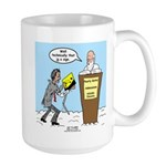 Sign from Heaven Large Mug